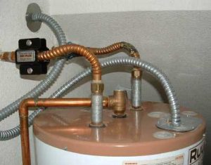 Install Unit on Output of Hot Water Tank